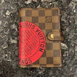 Louis Vuitton limited edition agenda cover pm